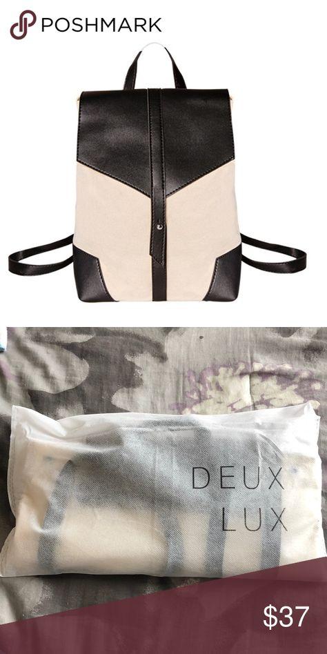 Deux Lux Canvas backpack Deux Lux Canvas backpack Deux Lux Bags Backpacks