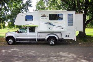 Ec1165 Ext 27 Slide In Truck Campers Truck Camper Trucks