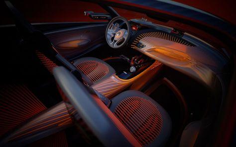 Renault Captur Concept Interior Car Interior Sketch Concept