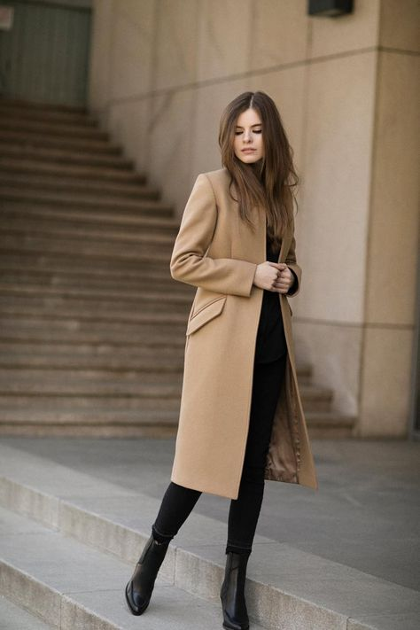 Winter Coat Outfits, Winter Fashion Outfits, Casual Outfits, Classy Winter Fashion, Fasion, Winter Professional Outfits, Fall Fashion, Fashion Coat, Fashion Over 40