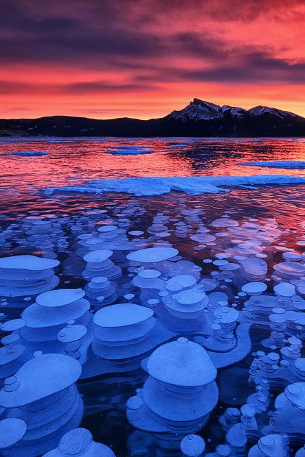 captvinvanity:      Methane iced bubbles  Chris Babida Acaso