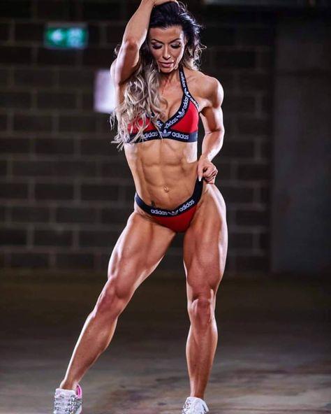 Muskel Mädchen Webcam Flex