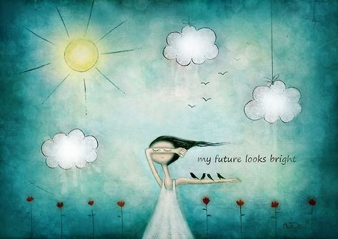 My future looks bright by theArtoflOve