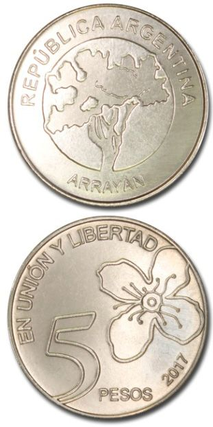 5 Pesos Arrayan Monedas Coleccionar Monedas Billetes