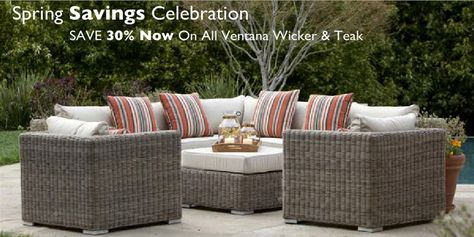Ventana At Terra Patio 888 449 Teak Outdoor Furniture Pinterest Patios And Sets