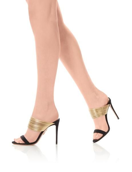 Mules! High heel mules! Gorgeous to look at. Impossible to