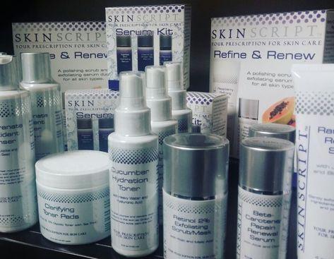 Skin Script professional skin care products