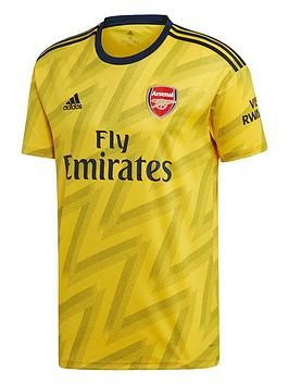 adidas Official Mens Arsenal FC Training Football Tee T-Shirt Top Navy Blue