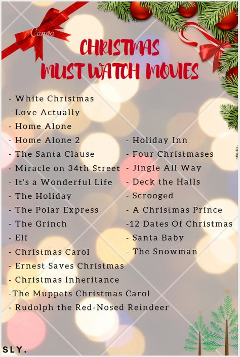 eee654d24a6 Here s a list of movies so you can enjoy your christmas. Binge those in  front of a fire