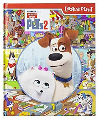 The Secret Life Of Pets 2 Look And Find Activity Book Pi Kids