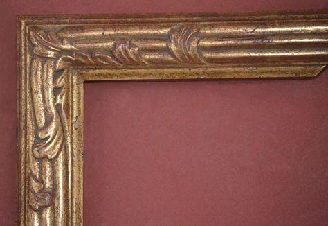 "16 x 20 Plein air Picture Frame HandApplied Gold Metal Leaf  /""Best Quality/"""