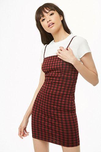 16+ Plaid cami dress ideas