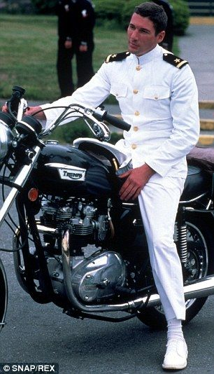 Richard Gere as Zack Mayo in 'An Officer and a Gentleman' (1982)  - #RichardGere #AnOfficerAndAGentleman