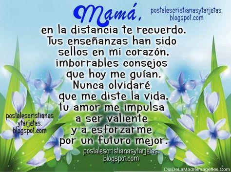 Dia De Las Madres Muertas Foto Con Frases Para Una Madre