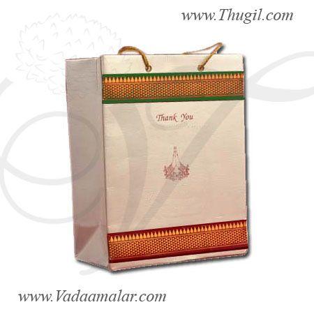 Indian wedding gift festivals paper bag bags for Return Gifts ...