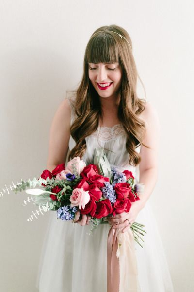 Vintage shoot inspired by the love between sisters: http://www.stylemepretty.com/oregon-weddings/salem-or/2015/02/13/vintage-valentines-bridal-inspiration/ | Photography: Hurtienne - http://hurtiennephotography.com/
