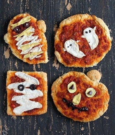 17 Vegan Halloween Recipes That Are Spooky Af Vegan Halloween Food Halloween Pizza Gluten Free Halloween
