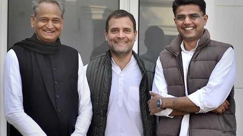 CM-designates swearing in LIVE updates: Rahul Gandhi arrives for oath taking ceremony of Ashok Gehlot Sachin Pilot | assembly elections