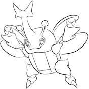Heracross Coloring Page Pokemon Coloring Pages Pokemon Coloring