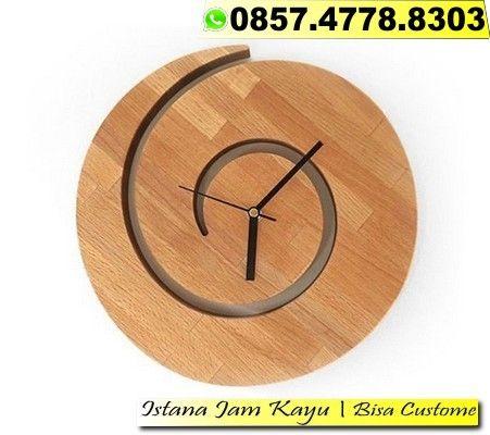 Jam Dinding Kayu Classic Jual Jam Dinding Kayu Murah Bandung 0857 4778 8303 Jam Dinding Kayu Classic Jual Jam Dinding Kay Wood Wall Clock Wooden Clock Clock