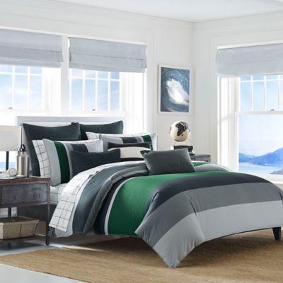 Nautica Prescott Reversible Twin Comforter Set In Blue Comforter