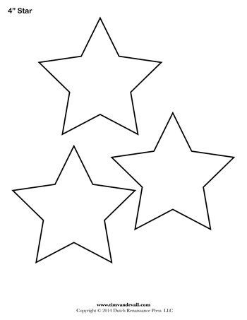 It's just a photo of Printable Stars Shapes within instruction