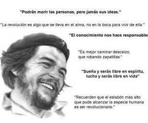 Thoughts, speeches and phrases of Che Guevara