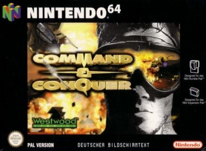 Command & Conquer [Germany] - Nintendo 64 (N64) rom download