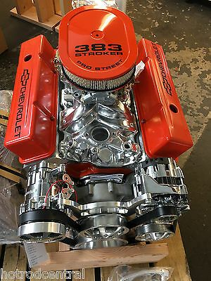 383 Stroker Roller Crate Engine Chevy Turnkey 440hp With A C Belt Drive Kit Look Ebay Crate Engines Crate Motors Chevy Crate Engines