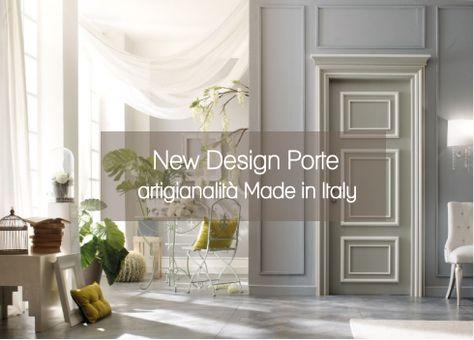 NEW DESIGN PORTE artigianalità Made in Italy
