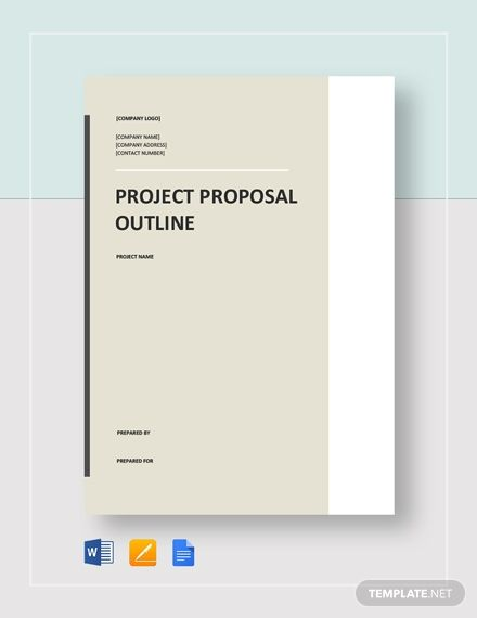 Project Proposal Outline Template Writing A Business Proposal Project Proposal Proposal
