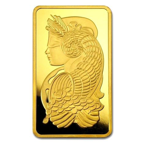 1 Gram Pamp Lady Fortuna Gold Bar 9999 Pure Solid Element Card Bullion Case 14kgold