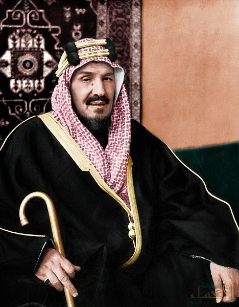 King Abdulaziz Colorized Photos Saudi Arabia Culture Character Design
