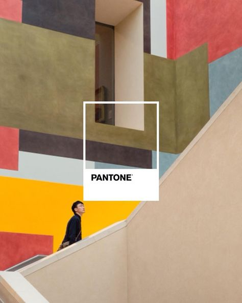 """26.4k Likes, 50 Comments - PANTONE (@pantone) on Instagram: """"Exploring nuances within color families and experimenting with the mixing of materials and textures…"""""""