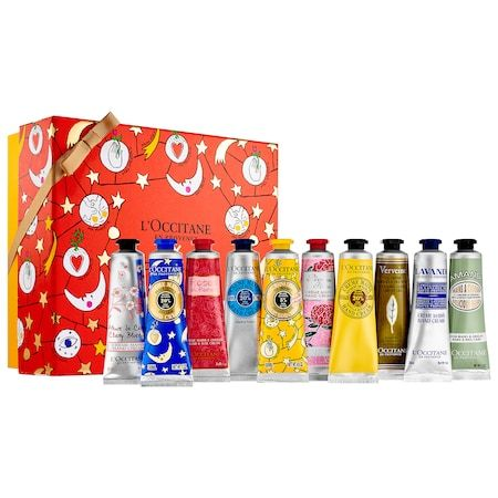 Holiday Hand Cream 10 Piece Set L Occitane Sephora Hand