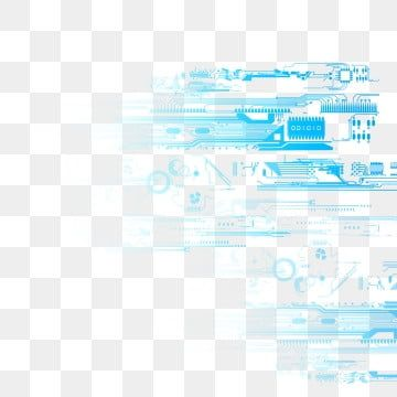 Vector Blue Technology Background Circuit Diagram In 2021 Futuristic Technology Future Technology Concept Circuit Board Design