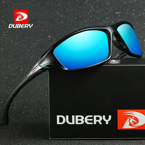 5a8df3d6c9 DUBERY Sunglasses Men s Driving Polarized Night Vision Sun Glasses For Men  Square Sport Brand Luxury Mirror Shades Oculos UV400 Review