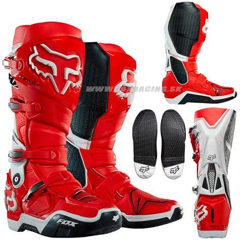 Moto obuv - čižmy na motorku Dirt Bike Boots, Mx Boots, Dirt Bike Gear, Motorcycle Boots, Fox Motocross, Four Wheelers, Walk In My Shoes, Hype Shoes, Cool Motorcycles