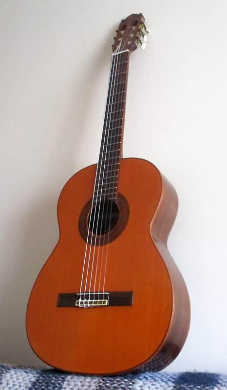 Luthier K Yairi Gy 85 1978 Solid Top Spruce Brazilian Rosewood Concert Classical Flamenco Guitar Mount Xiao Vintage Reverb Guitar Classic Guitar Classical Guitar