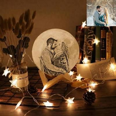 Custom Photo Night Light Moon Lamp 3d Moon Lamp Birthday Gift Anniversary Gift Gifts For Boyfriend Girlfrien In 2020 Photo Engraving 3d Photo Wedding Gifts For Parents