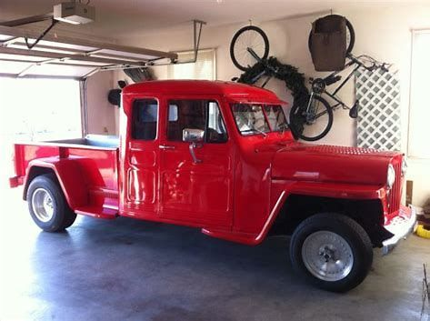 Image Result For Willys Truck Extended Cab Trucks Willys Hot