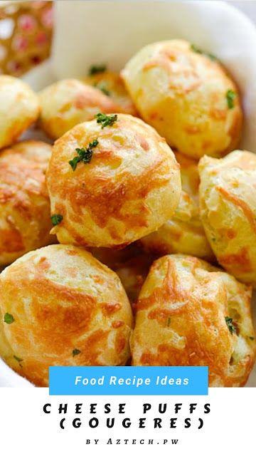 Cheese Puffs Gougeres Savory Snacks Cheese Puffs Cheese Puffs Recipe