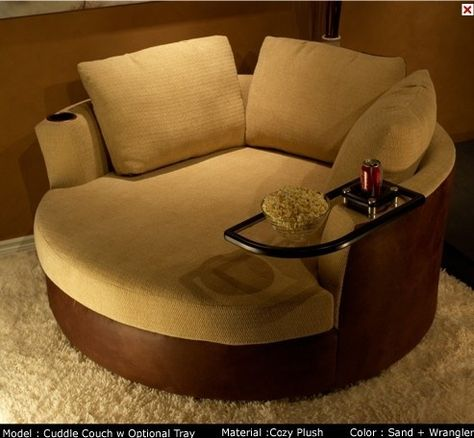 A cuddle couch...... my kind of couch