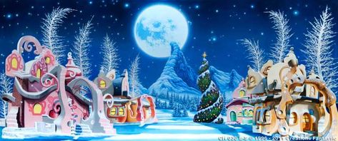 Backdrop CH028-S Whoville Christmas 1   Christmas   Pinterest ...