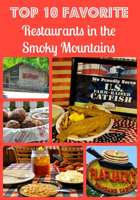 If you are visiting the Gatlinburg, Pigeon Forge or Sevierville area you will want to check out these Top 10 Favorite Restaurants in the Great Smoky Mountains