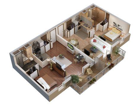 lakás, újlakás, passzívház, újház, lakáshitel, zuglói lakás - logiciel gratuit de plan de maison 3d