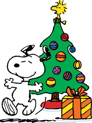 Snoopy Xmas Tree Clipart 1 Peanuts Christmas Snoopy Christmas Peanuts Christmas Tree