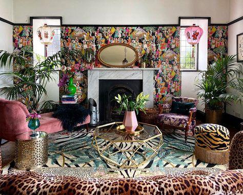 Collective Inspiration for Zebra Florals, Leopard Florals and Zebra Leopard Palms - Wendy Morrison Design
