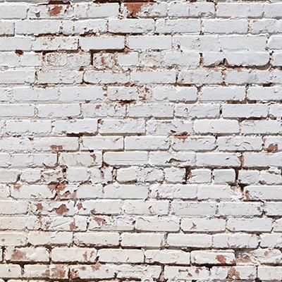 White Painted Brick Wall Backdrop Painted Brick Walls White