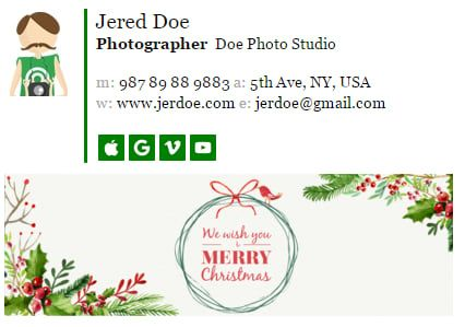 How To Choose A Perfect Christmas Banner For Email Signature Newoldstamp Christmas Banners Perfect Christmas Banner